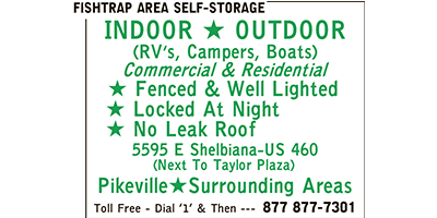 About Us | Fishtrap Area Self-Storage - Pikeville, KY